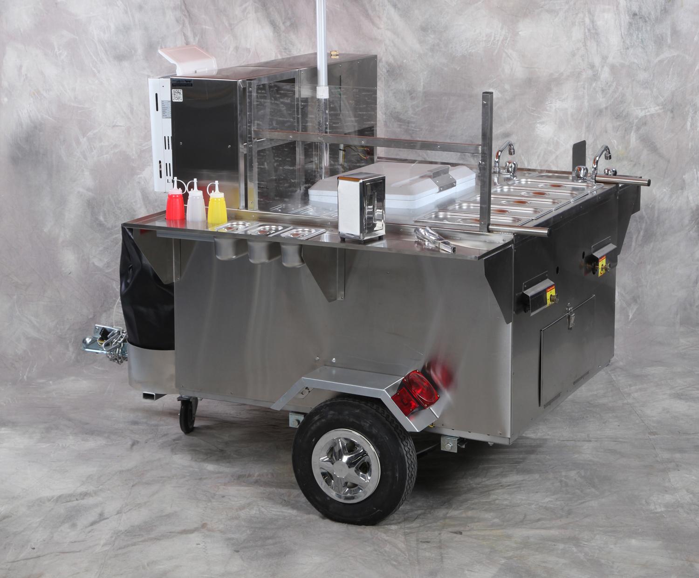 diesel hot dog cart
