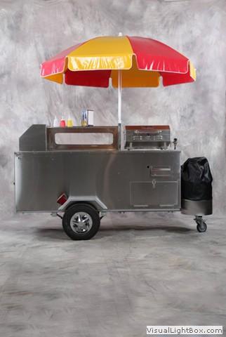 A 100 Hot Dog Cart
